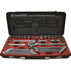 ToolPRO Tool Kit - Metric and AMP Imperial, 35 Pieces, , scanz_hi-res