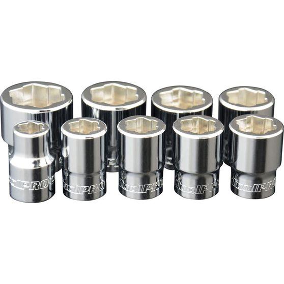 ToolPRO Bolt Extractor Socket Set - 3 / 8 inch, 9 Piece, , scanz_hi-res