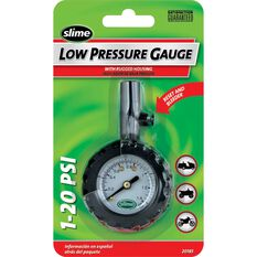 Slime Low Pressure Tyre Gauge - 1-20 PSI, , scanz_hi-res