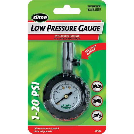 Slime Low Pressure Tyre Gauge - 1-20 PSI, , scanz_hi-res