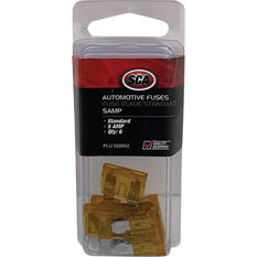 SCA Fuse Standard Blade - 5 AMP, 6pce, , scanz_hi-res