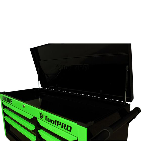 ToolPRO Neon Tool Cabinet, 6 Drawer, Top Chest - Kryptonite, 42 inch, , scanz_hi-res