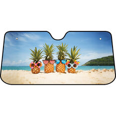 Beach Pineapples Sunshade - Fasion, Accoridon, Front, , scanz_hi-res