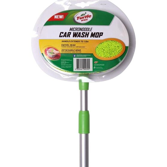 Turtle Wax Microfibre Noodle Car Wash Mop, , scanz_hi-res