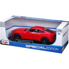Die Cast, Mustang Coupe Red- 1:18 scale model, , scanz_hi-res