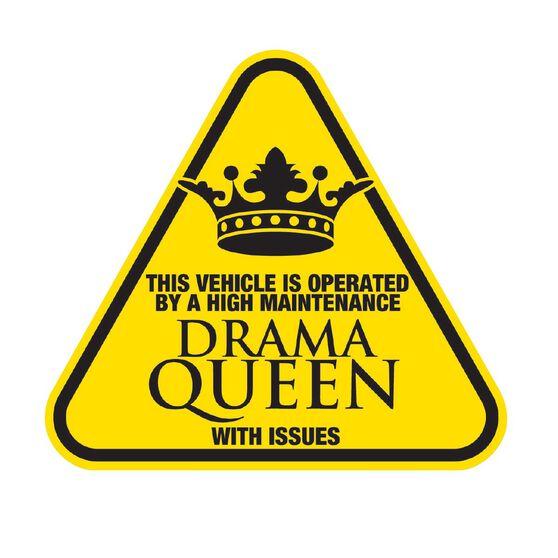 Hot Stuff Sticker - Drama Queen, , scanz_hi-res