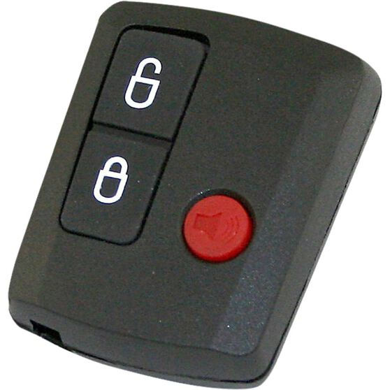 MAP Key Remote Button and Shell Replacement - Suits Ford BA - BF Falcon 3 Button, KF133, , scanz_hi-res