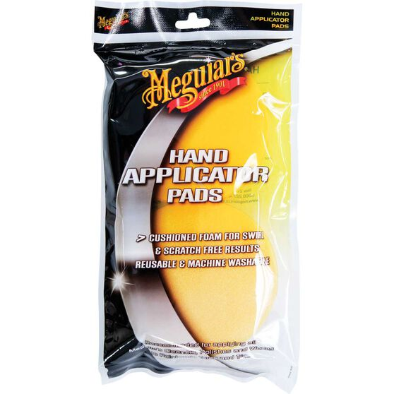 Meguiar's Foam Applicator Pads - 2 Pack, , scanz_hi-res