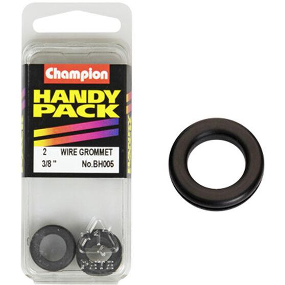 Champion Wiring Grommet - 3 / 8inch, BH005, Handy Pack, , scanz_hi-res