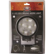 SCA Work Light - 18W, Round, , scanz_hi-res