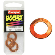 Champion Copper Washers - 3 / 8inch, BH069, Handy Pack, , scanz_hi-res