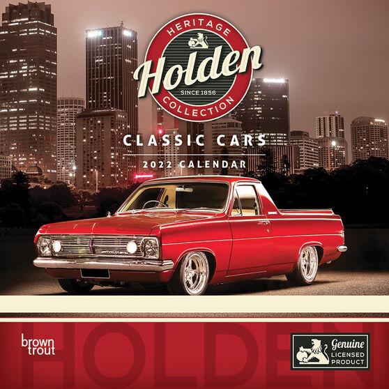 Calendar Holden Classic Mini 2022, , scanz_hi-res