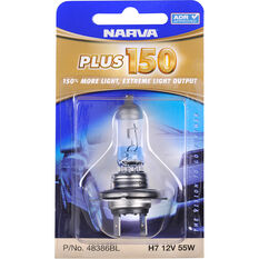 Narva Headlight Globe - Plus 150, 12V, H7, 55W, , scanz_hi-res