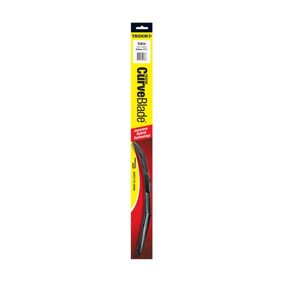 Tridon CurveBlade Single Wiper - 14in, , scanz_hi-res