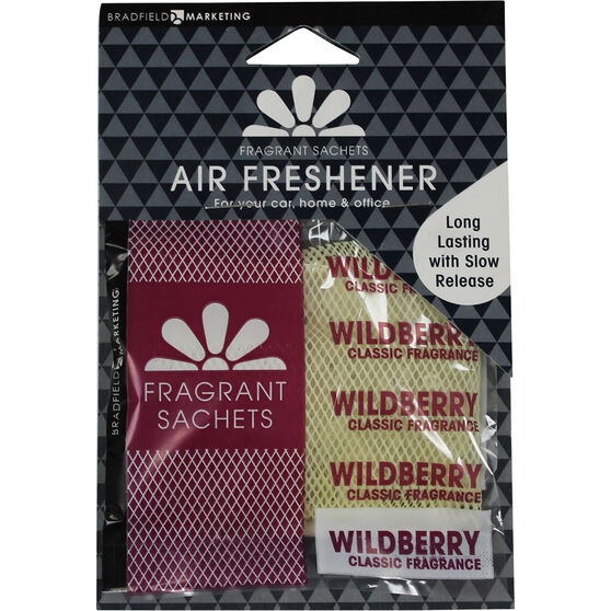 Auto Expressions Sachet Air Freshener - Wildberries, , scanz_hi-res