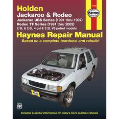 Haynes Car Manual For Holden Jackaroo / Rodeo 1991-2002 - 41753, , scanz_hi-res