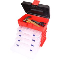 ToolPRO Plastic Organiser 19 Compartment 4 Pack, , scanz_hi-res