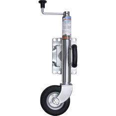 Ridge Ryder Swing Jockey Wheel - 6 inch, Chrome, , scanz_hi-res