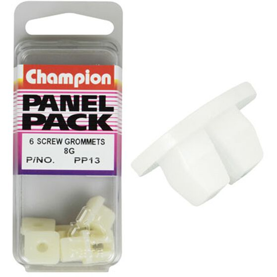 Champion Screw Grommets - 8G, PP13, Panel Pack, , scanz_hi-res