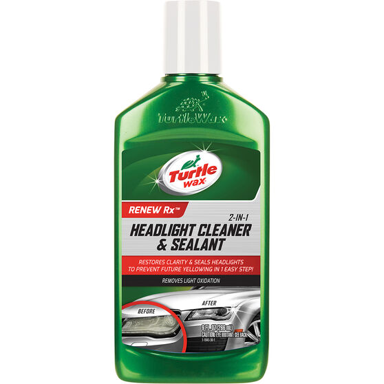 Turtle Wax Headlight Cleaner  &  Sealant - 266mL, , scanz_hi-res