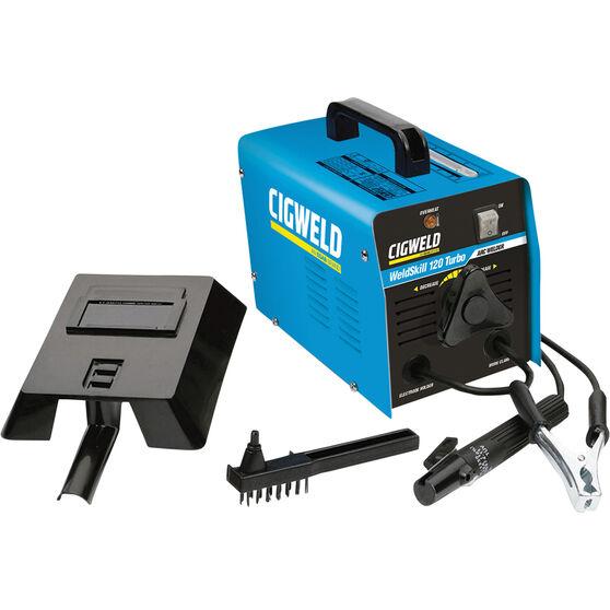 Cigweld ARC Welder - 120 Amp, 240V, Turbo, , scanz_hi-res
