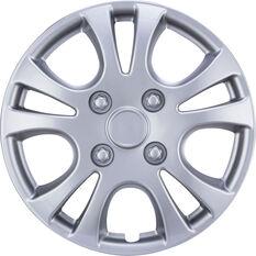 Wheel Covers - Horizon, 13, Silver, 4 Piece, , scanz_hi-res