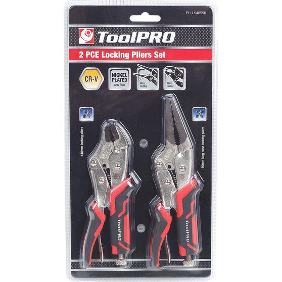 ToolPRO Medium Locking Plier Set - 2 Pieces, , scanz_hi-res