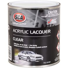 SCA Acrylic Paint - Clear, 2 Litre, , scanz_hi-res