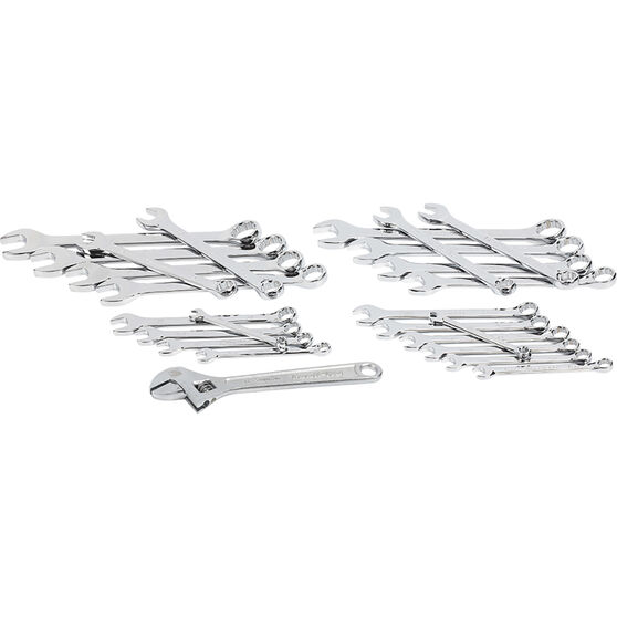 ToolPRO EVA Spanner Combo Set Metric/SAE 25 Piece, , scanz_hi-res