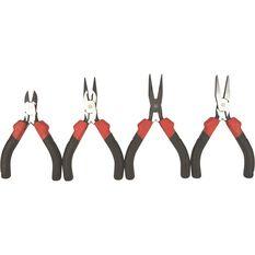 ToolPro Mini Plier Set - 4 Pieces, , scanz_hi-res