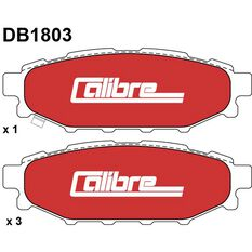 Calibre Disc Brake Pads DB1803CAL, , scanz_hi-res