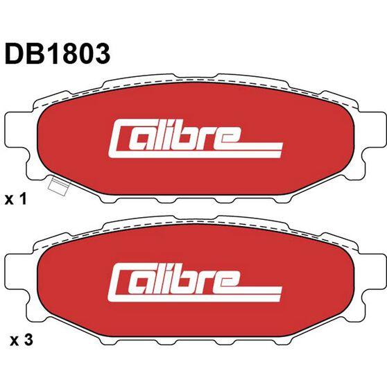 Calibre Disc Brake Pads DB1803CAL, , scanz_hi-res