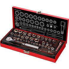 "SCA Socket Set 1/4"" & 3/8"" Drive Metric/SAE 58 Piece, , scanz_hi-res"