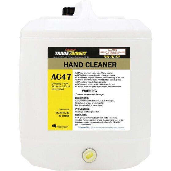 Trade Direct Citrus Hand Cleaner ST/AC47/20 - 20 Litre, , scanz_hi-res
