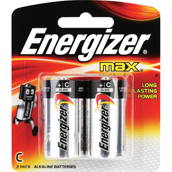 Energizer Max C Batteries - 2 Pack, , scanz_hi-res