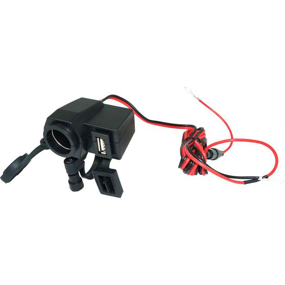 12V Twin Accessory - USB Socket, , scanz_hi-res