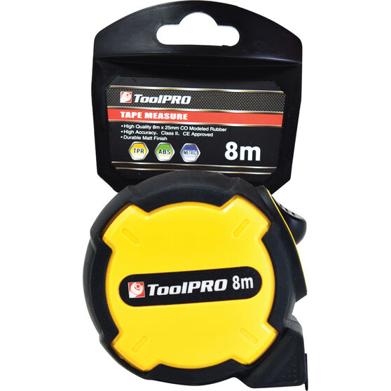 ToolPRO Tape Measure - 8m, , scanz_hi-res