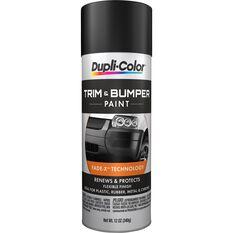 Dupli-Color Bumper Coating Aerosol Paint - Black, 311g, , scanz_hi-res