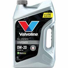 Valvoline Synpower Engine Oil 0W-20 6 Litre, , scanz_hi-res