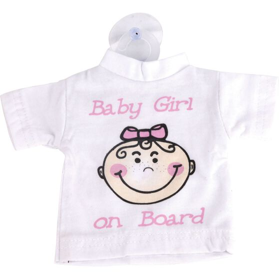 Little Car Baby on Board T-Shirt - Pink, , scanz_hi-res