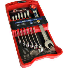 ToolPRO Spanner Set - Ratchet, 7 Piece, Metric, , scanz_hi-res