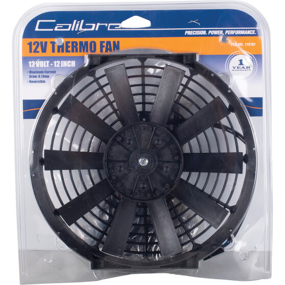 Calibre Thermo Fan - 12 Volt, 12 inch, , scanz_hi-res