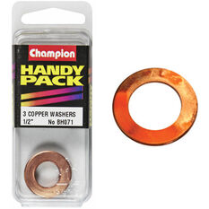 Champion Copper Washers - 1 / 2inch, Handy Pack, , scanz_hi-res