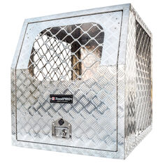 ToolPRO Dog Box - Modular, Aluminium Checker Plate, , scanz_hi-res