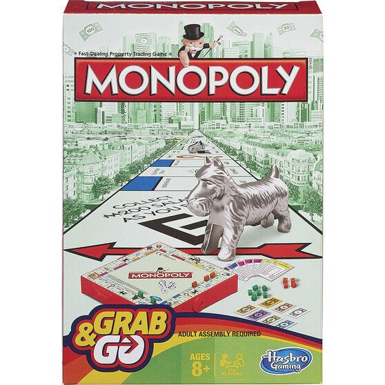 Hasbro Grab&Go Travel Game Monopoly, , scanz_hi-res