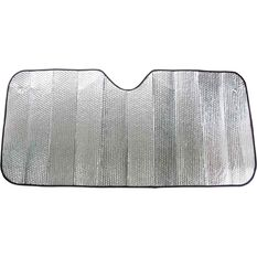 SCA Small Bubble Sunshade - Silver, Accordion, Front, , scanz_hi-res