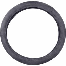 SCA Steering Wheel Cover - Suede Velour, Charcoal, , scanz_hi-res
