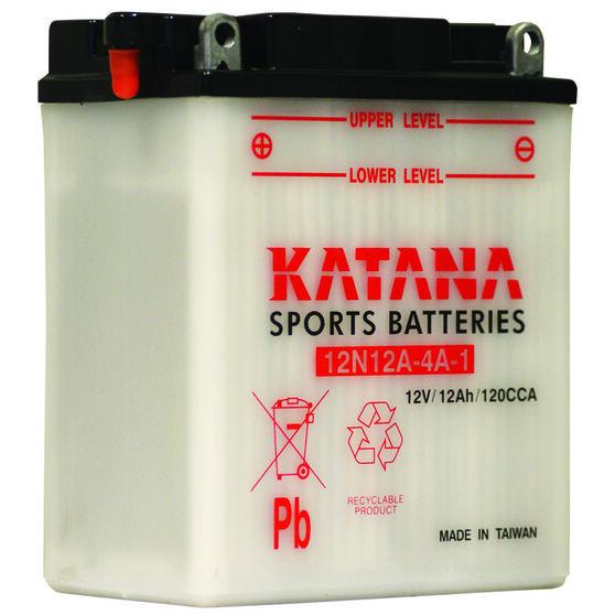 Katana Powersports Battery 12N12A-4A-1, , scanz_hi-res