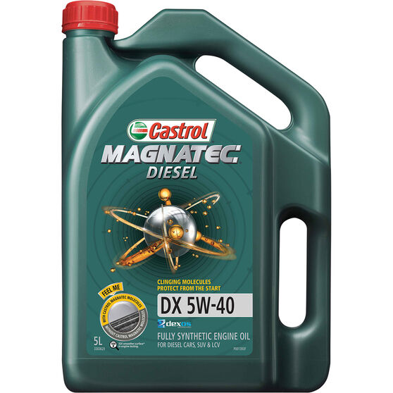 Castrol MAGNATEC Diesel Engine Oil 5W-40 DX 5 Litre, , scanz_hi-res