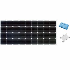 Ridge Ryder Caravan Solar Panel Kit - 160 Watt, , scanz_hi-res
